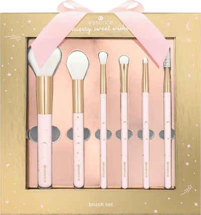Essence Kosmetikpinsel-Set »merry sweet wishes brush set«, 6 tlg.