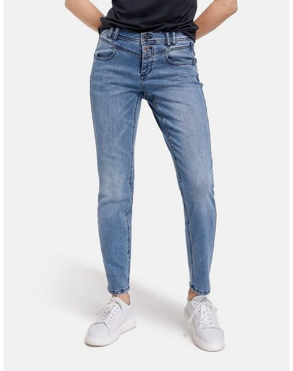 Taifun Stretch-Jeans »Jeans Slim Boyfriend TS Organic Cotton« (1-tlg) Hose