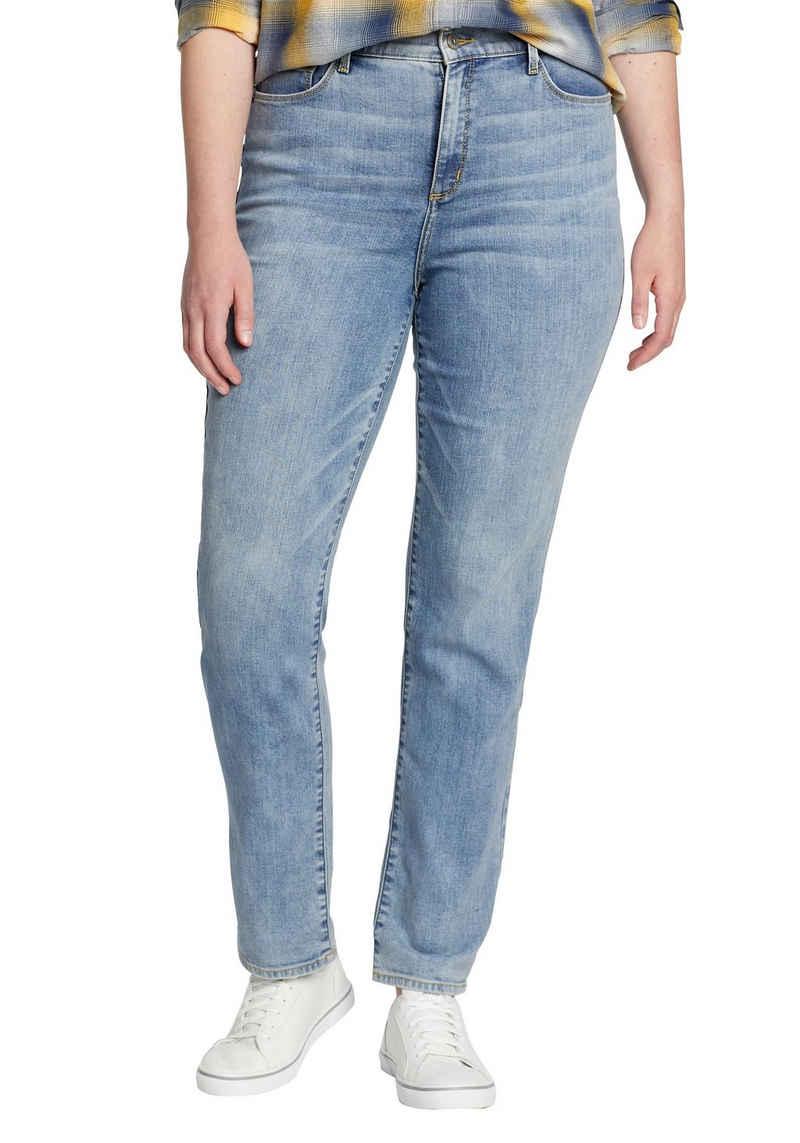 Eddie Bauer Skinny-fit-Jeans Voyager Jeans - Slim Leg - High Rise - Slightly Curvy