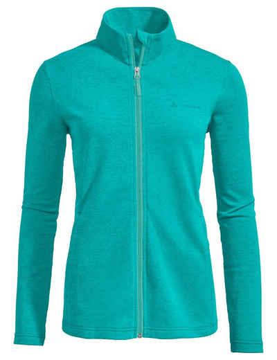 VAUDE Outdoorjacke »Women's Valua Fleece Jacket« Grüner Knopf