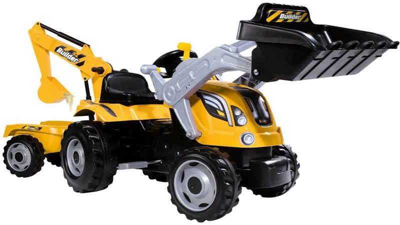 BIG Trettraktor »Builder Max«, BxTxH: 44x63x183 cm