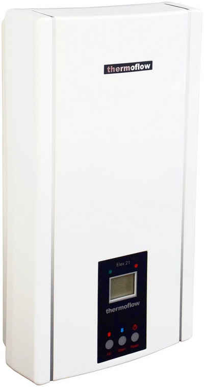 Thermoflow Durchlauferhitzer »Thermoflow Elex 18 / 21 / 24«, elektronisch, max 75 °C, mit LC-Display