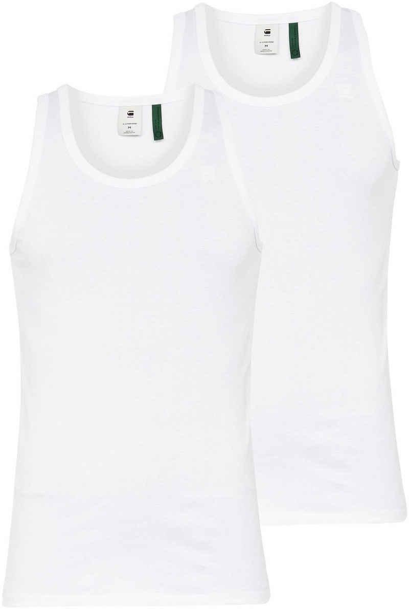 G-Star RAW T-Shirt »Base Tank t 2-Pack« (Packung, 2-tlg., 2er-Pack)