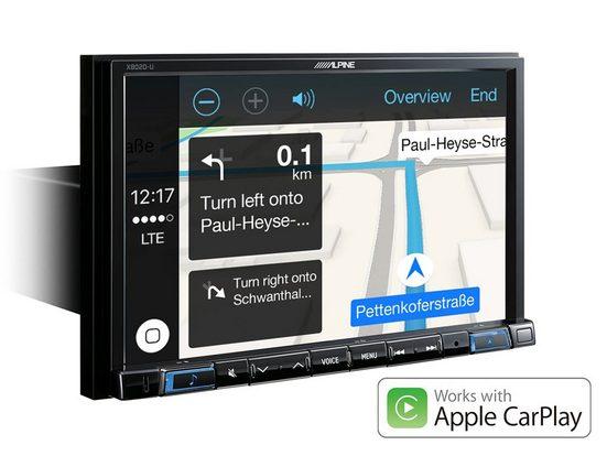 ALPINE Audio-System (Alpine X802D-U - Navi Station mit kapazitivem 8-Zoll Display und Apple CarPlay und Android Auto)
