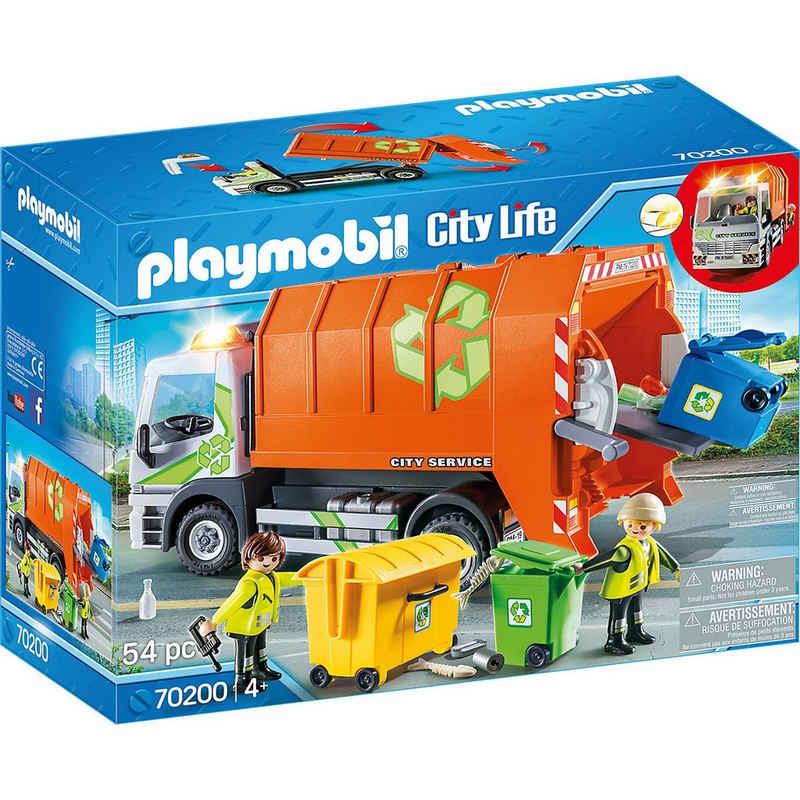 Playmobil® Spielfigur »PLAYMOBIL® 70200 Müllfahrzeug«