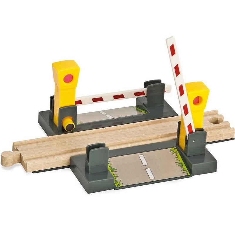 Eichhorn Spielzeug-Eisenbahn »Bahn, Übergang, 4-tlg.«