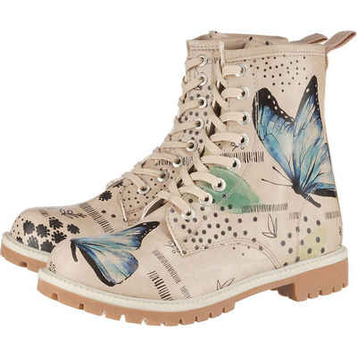 Dogo Shoes »Dogo Boots - Use Your Wings Schnürstiefel« Schnürstiefel