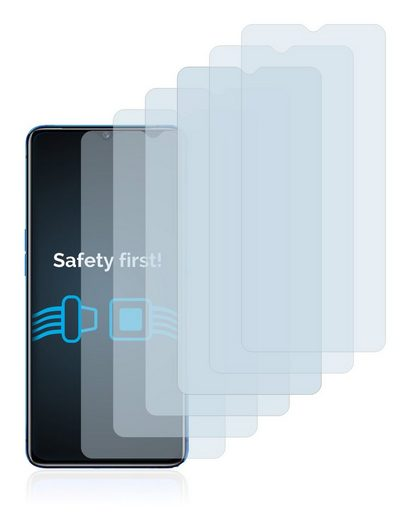 Savvies Schutzfolie »für Realme X2 Pro«, (6 Stück), Folie Schutzfolie klar