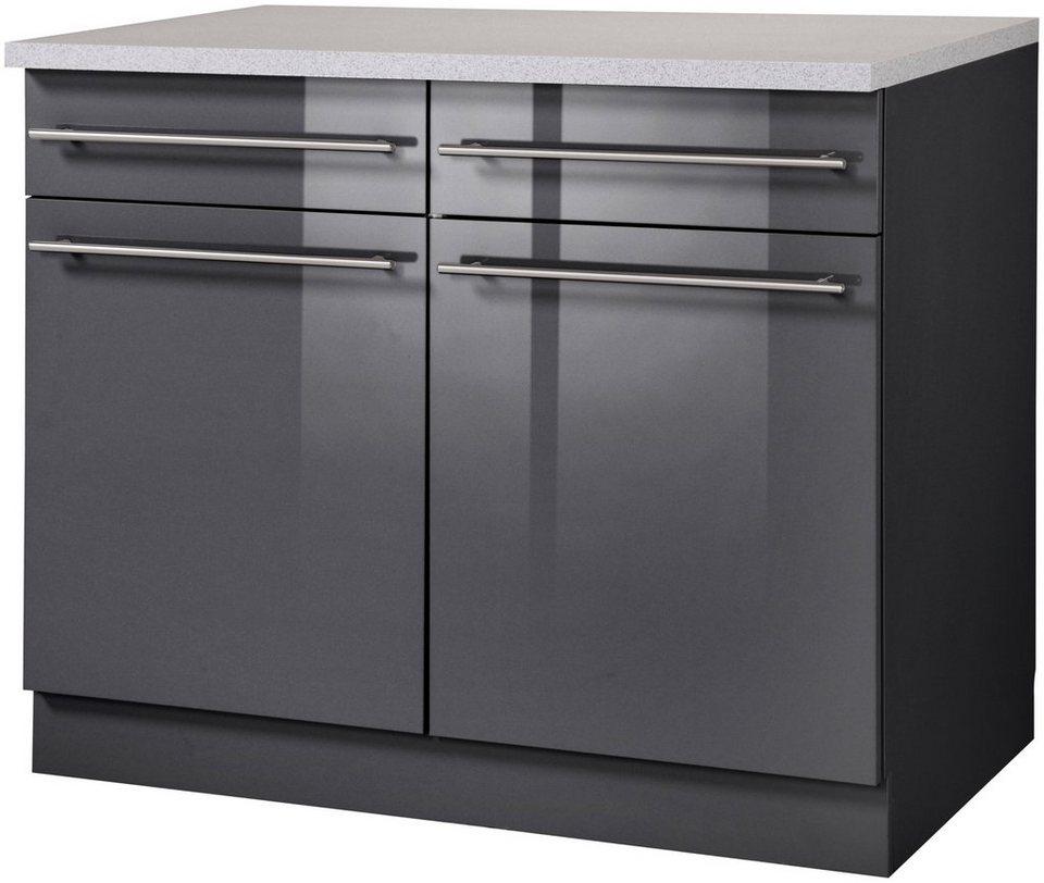 Wiho Küchen Küchenunterschrank »Chicago, Breite 100 cm« online kaufen | OTTO