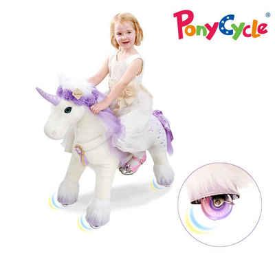 miweba Reitpferd »Ponycycle Fairytale«, Kuscheltier auf Rollen