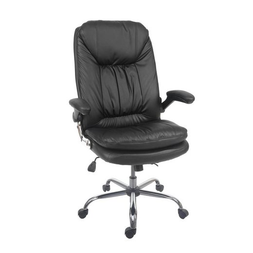 MCW Schreibtischstuhl »MCW-F81«, Armlehnen hochklappbar, Federkern in der Sitzfläche, Vorspannung der Wippmechanik einstellbar