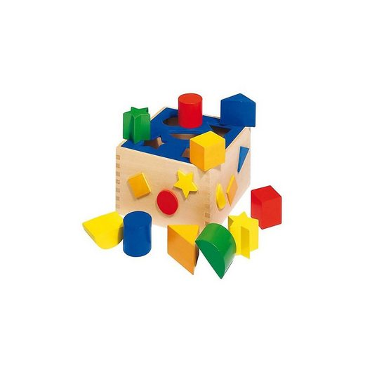 goki Steckspielzeug »Sortierbox«