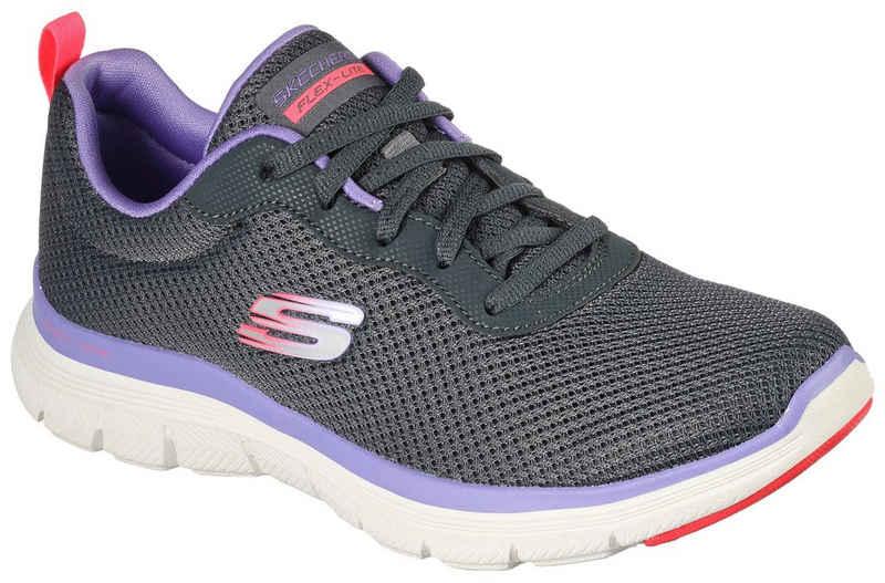 Skechers »FLEX APPEAL 4.0 BRILLINAT VIEW« Sneaker mit Air-Cooled Memory Foam Ausstattung