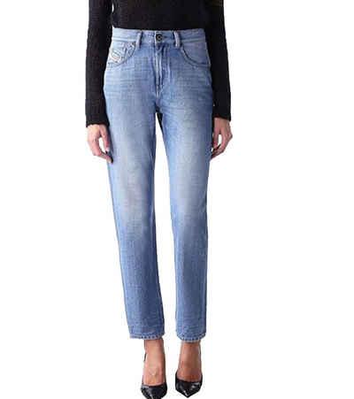 Diesel Regular-fit-Jeans »Diesel Kameron Boyfriend-Jeans schöne Damen Casual-Hose Alltags-Jeans im 5-Pocket-Style Blau«