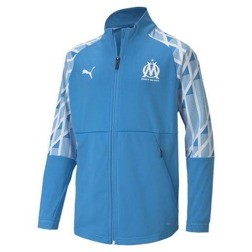 PUMA Softshelljacke »Olympique de Marseille Youth Stadium Jacke«