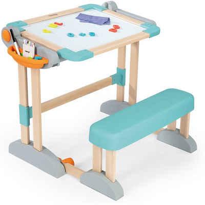 Smoby Spieltisch »Zusammenklappbarer modularer Holz-Spieltisch«