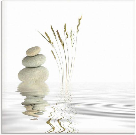 Artland Glasbild »Zen Friede«, Zen (1 Stück)