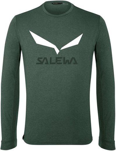 Salewa Longsleeve »Solidlogo Dry«