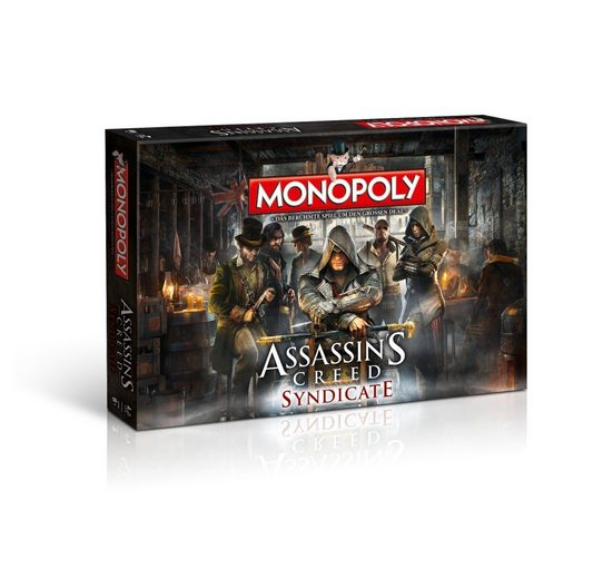 Winning Moves Spiel, Brettspiel »Monopoly Assassin's Creed Syndicate«