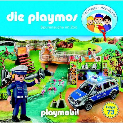 Edel Hörspiel »CD Die Playmos 73 - Spurensuche im Zoo«