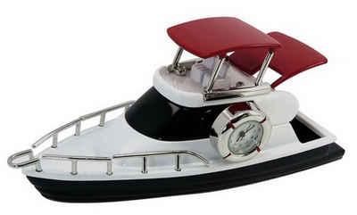 Siva Standuhr »Siva Clock Sport Boat Quarzuhr aus Metall im Sport« (set)