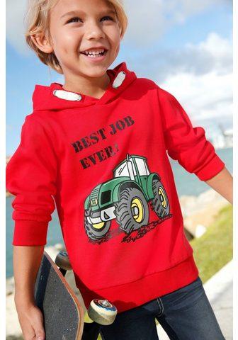 KIDSWORLD Sportinis megztinis su gobtuvu »BEST J...
