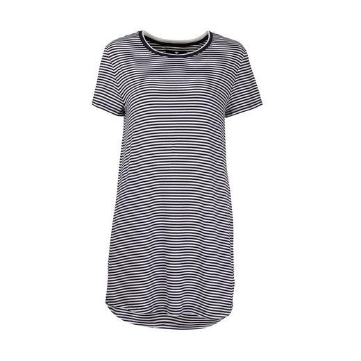 Nachthemd »Damen Nachthemd - Sleepshirt, Rundhals, gestreift«