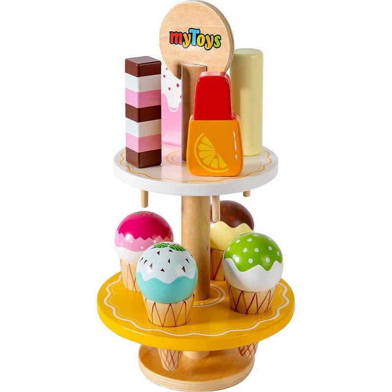 myToys Spiellebensmittel »Eiscreme im Ständer, 9-tlg.«