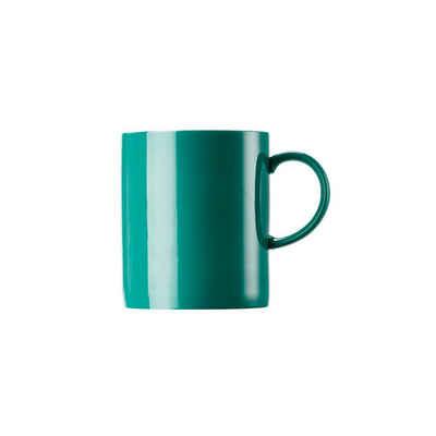 Thomas Porzellan Becher »Sunny Day Seaside Green Becher mit Henkel groß«, Porzellan