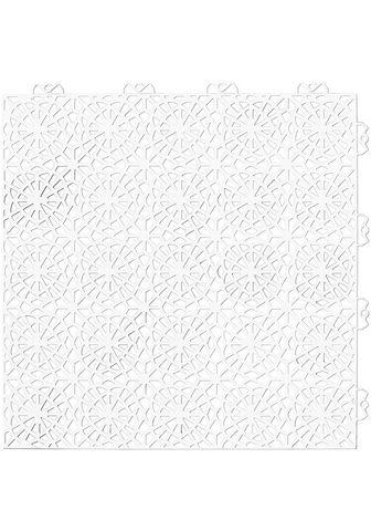 Bergo Flooring Terrassenplatten »XL« 38x38 cm 14-St. ...