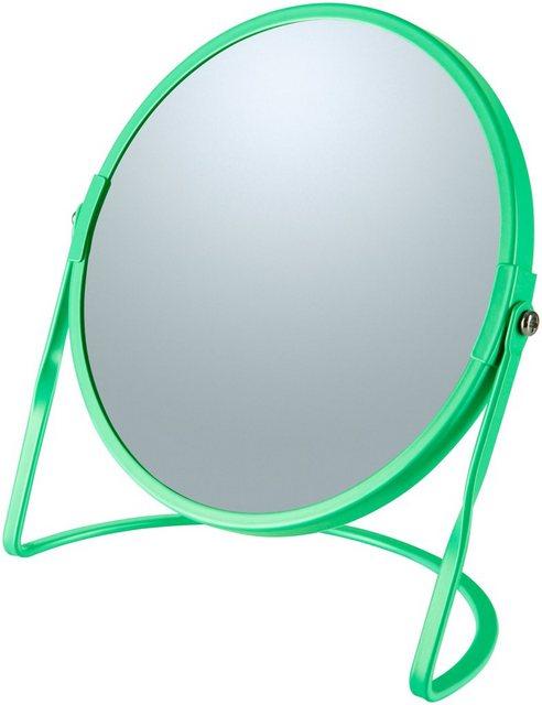 Kosmetikspiegel »AKIRA«, mit 5-fach Vergrößerung | Bad > Bad-Accessoires > Kosmetikspiegel | Grün | spirella