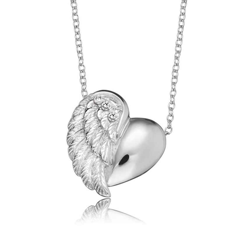 Engelsrufer Smartphone-Hülle »Engelsrufer Halskette ERN-LILHEARTWING Herz Silber«