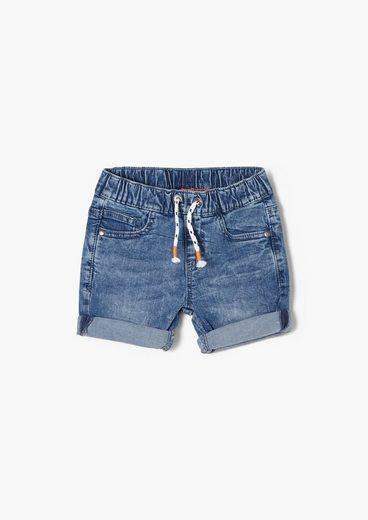 s.Oliver Jeansshorts »Regular Fit: Jeans-Bermuda« Waschung, angedeuteter Tunnelzug