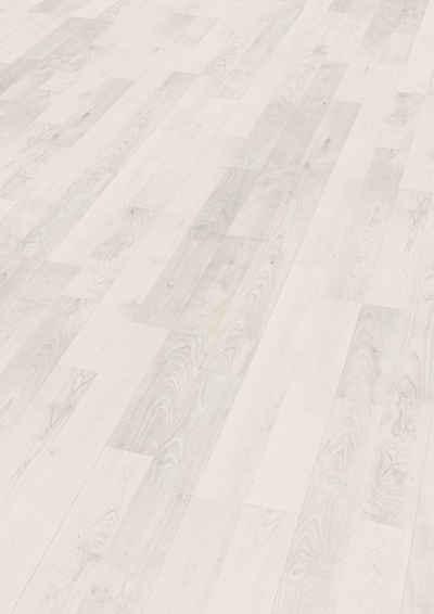 EGGER Laminat »Ascona Wood weiss«, 7mm, 2,494m², authentische Holzoptik, universell einsetzbar