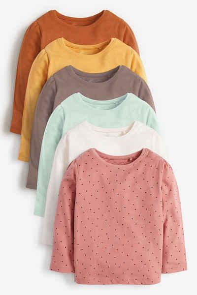 Next T-Shirt »T-Shirts aus Bio-Baumwolle im 6er Pack« (6-tlg)