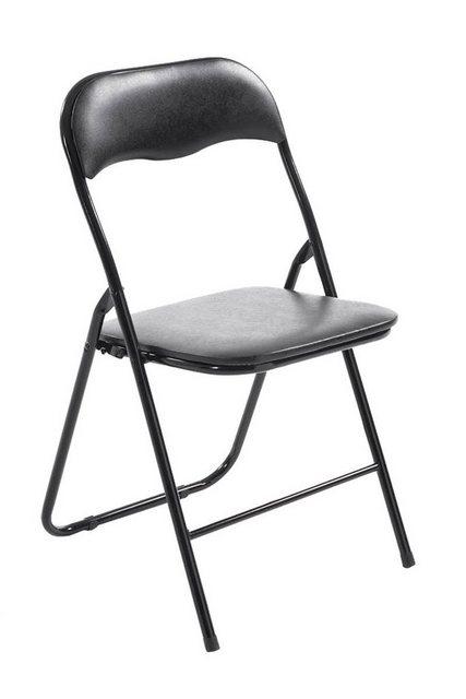 Stühle und Bänke - CLP Stuhl »Felix« Klappbarer mit Kunstleder PVC Sitz Gepolstert  - Onlineshop OTTO