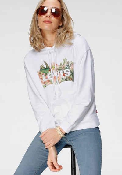 Levi's® Hoodie »Graphic Standard Hoodie« mit floralem Batwing-Logo-Print