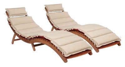 Sonnenliege Klappbar Holz.Gartenliege Kaufen Sonnenliege Aus Holz Alu Otto