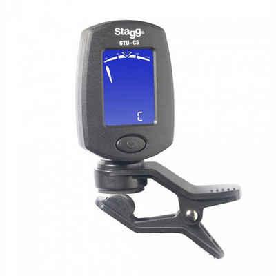 Stagg Stimmgerät »Clip Tuner«, für Gitarre, Bass, Violine, Ukulele und Chromatisch