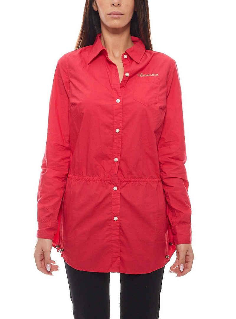 Chiemsee Langarmshirt »CHIEMSEE Damen Beach Long-Tunika schickes Langarm-Shirt Tunika Cleara Rot«