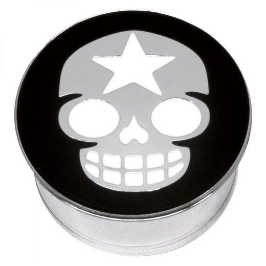 Wildcat Plug »Plug Impression Star Skull on Black«