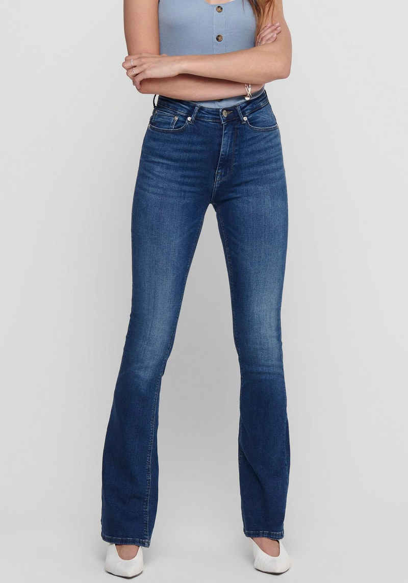 Only Bootcut-Jeans »ONLPAOLA LIFE HW FLARED«