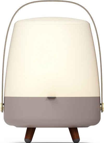 kooduu LED Tischleuchte »Lite-up Play S«, tragbare LED Designer-Lampe, Bluetooth Lautsprecher mit Akku, eine witere S-Lampe koppelbar