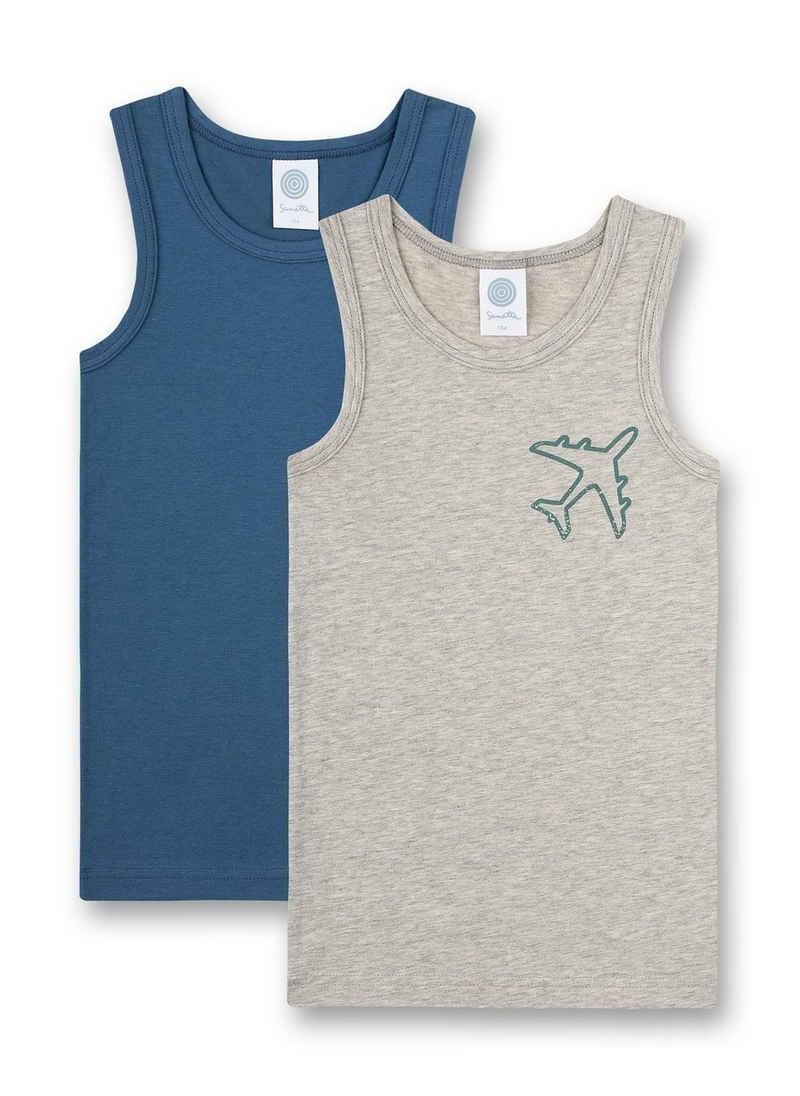 Sanetta Unterhemd »Jungen Unterhemd 2er Pack - Shirt ohne Arm,«