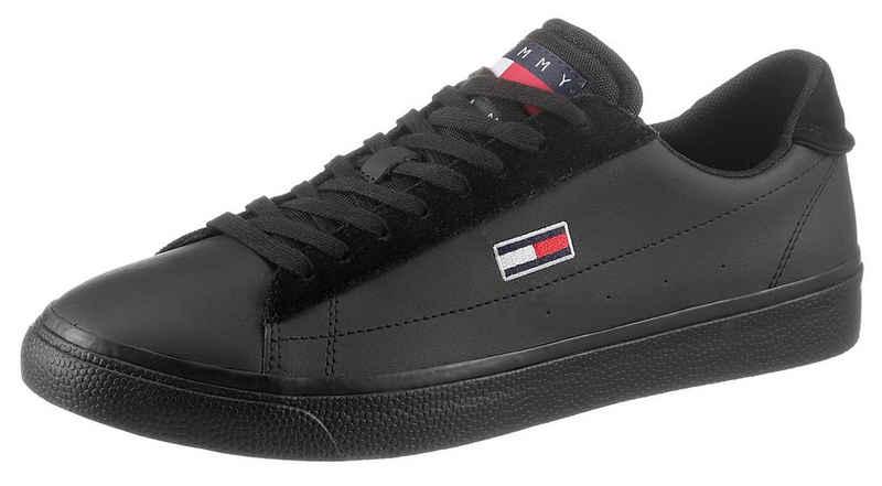 Tommy Jeans »RETRO VULC TJM LEATHER« Sneaker im monochromem Look