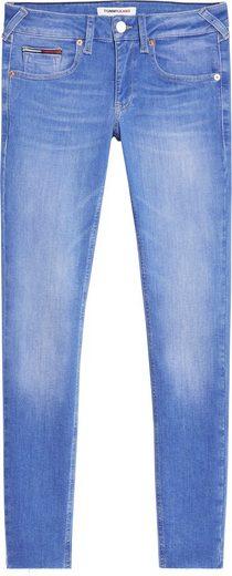 Tommy Jeans Skinny-fit-Jeans »SOPHIE LR SKNY ANKLE« mit Tommy Jeans Logo-Badge & Stickerei