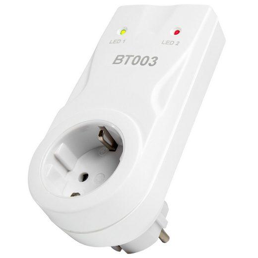 tectake »Empfängersteckdose BT003« Smartes Heizkörperthermostat