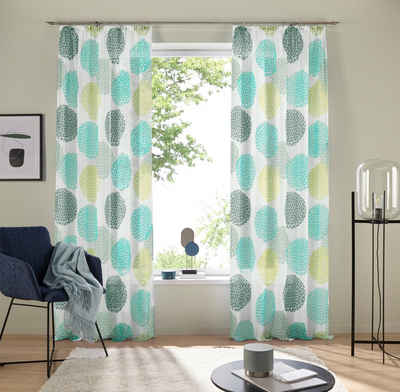 Gardine »Belem«, my home, Kräuselband (1 Stück), Vorhang, Fertiggardine, transparent