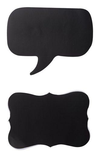 VBS Tafelfolie »Sprechblase und Schild«, 2 Stück