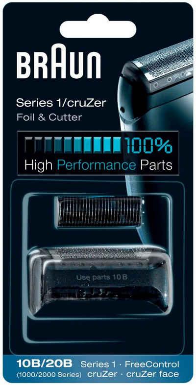 Braun Ersatzscherteil »Series 1 10B«, kompatibel mit cruZer und Series 1 Rasierern